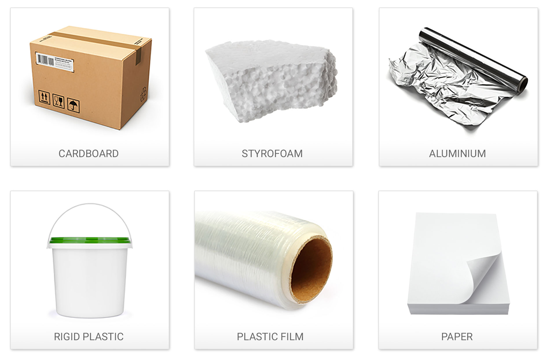 Recyclable material for your business